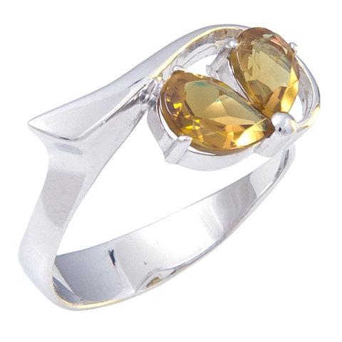Кольцо из серебра с султанитом Арт.1058с