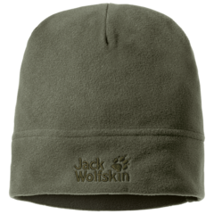 Шапка флисовая Jack Wolfskin Real Stuff Cap woodland green