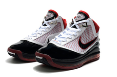 Nike Lebron 7 'Black/White/Red'