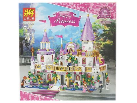 Конструктор LELE Happy Princess Замок 37050 (Аналог LEGO Disney Princesses) 731 дет