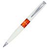 Pierre Cardin Libra - White & Orange, шариковая ручка, M