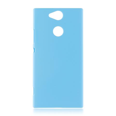 Пластиковый чехол для Xperia XA2 синего цвета