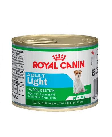 Royal Canin Adult Light консервы для собак предрасположенных к полноте 195 г