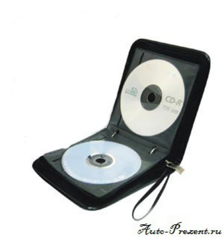 Портмоне для cd, dvd дисков с логотипом LADA