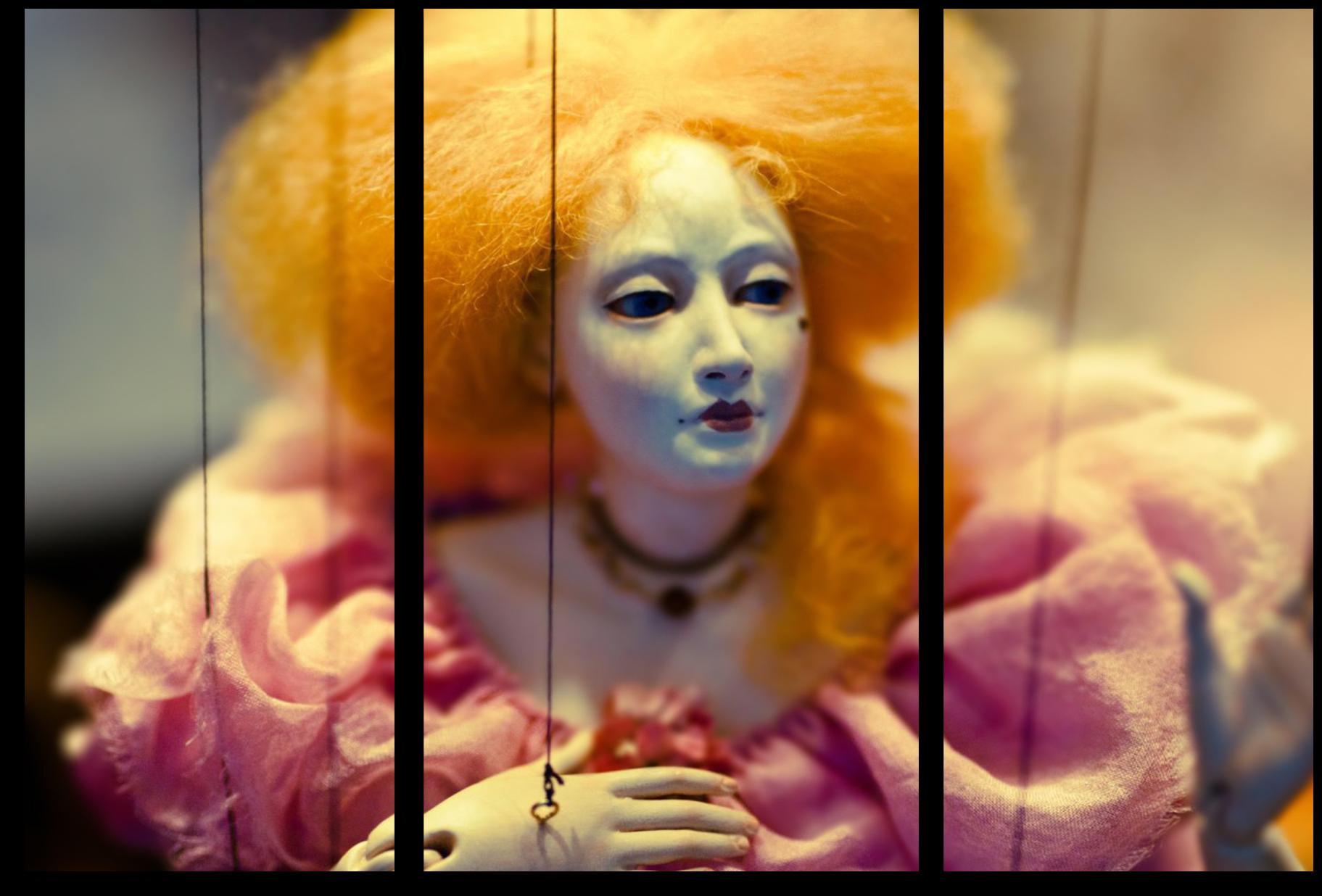 """Модульные картины Модульная картина """" Кукольная девушка """" М616.png"""