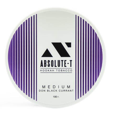 Табак Absolute-T Med Don Black Currant (Черная смородина) 100 г