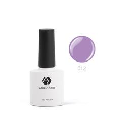 Цветной гель-лак ADRICOCO №012 фиалковый (8 мл.)