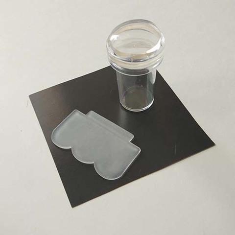 Тампон-штамп прозрачный для стемпинга
