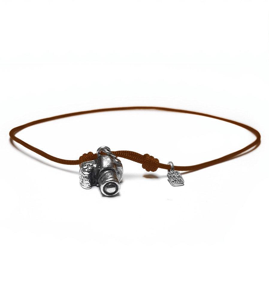 Camera Bracelet,  Sterling Silver