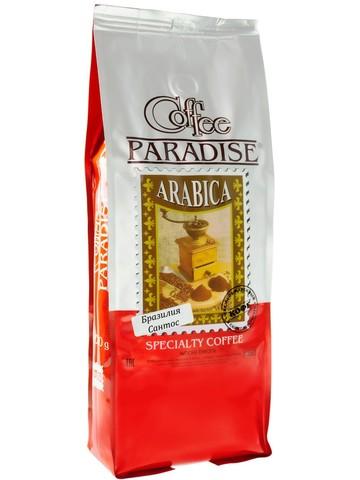 Кофе в зернах Paradise Бразилия Сантос, 1 кг