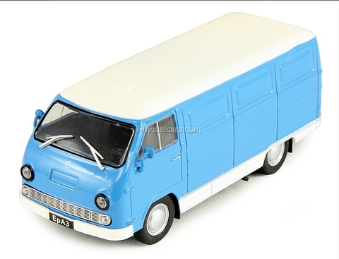 ERAZ-762B 1976 blue-white 1:43 DeAgostini Auto Legends USSR #102