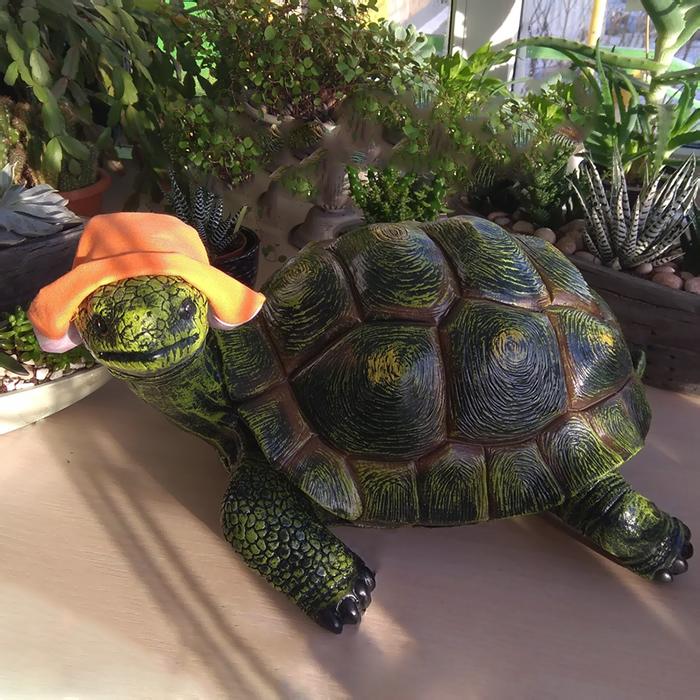 Купить фигурка декоративная Черепаха для сада и дома в Перми