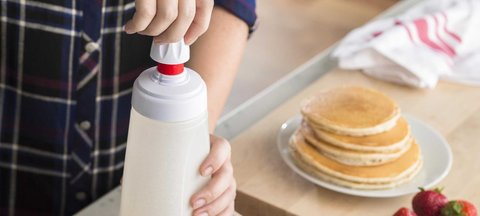 BlenderBottle Whiskware Batter Mixer, 1065мл Блендер для смешивания жидкого теста с венчиком