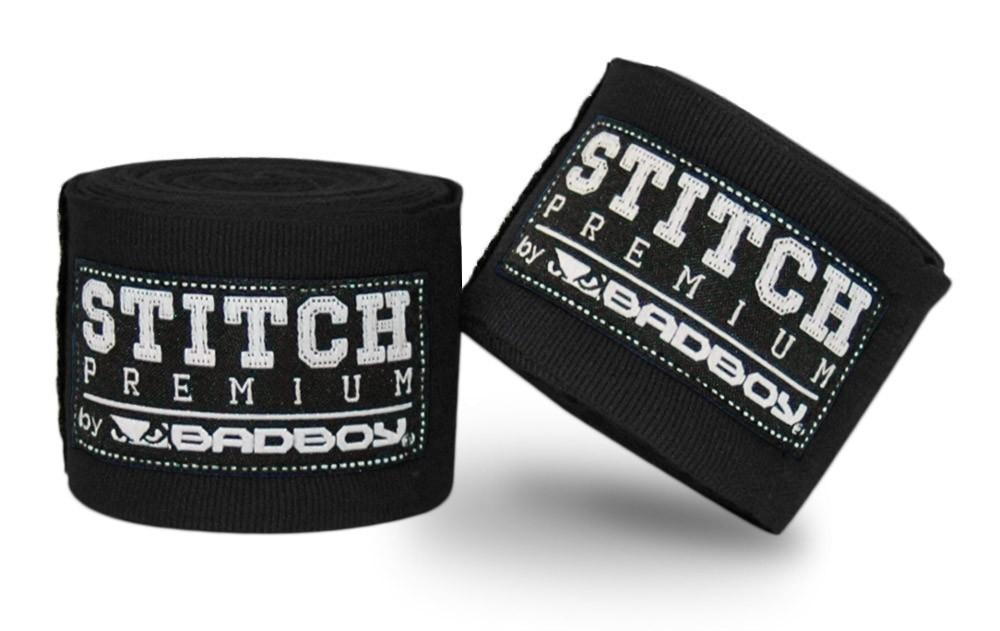Капы и бинты Бинты Bad Boy Stitch Premium Hand Wraps - Black 5m 1.jpg