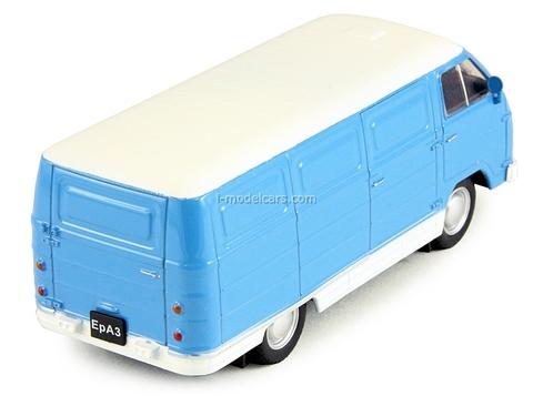 ERAZ-762B 1976 blue-white 1:43 DeAgostini Auto Legends USSR #102