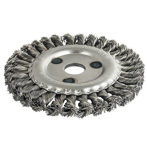 Кордщетка для МШУ радиальная витая ПРАКТИКА 150 х 22 мм (1шт.) блистер (032-522)