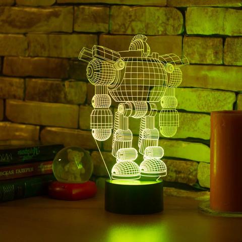 3D ночник Робот
