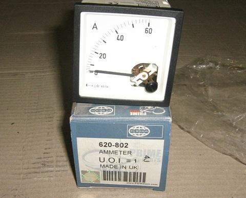 Амперметр 0-60А / Ammeter АРТ: 620-802