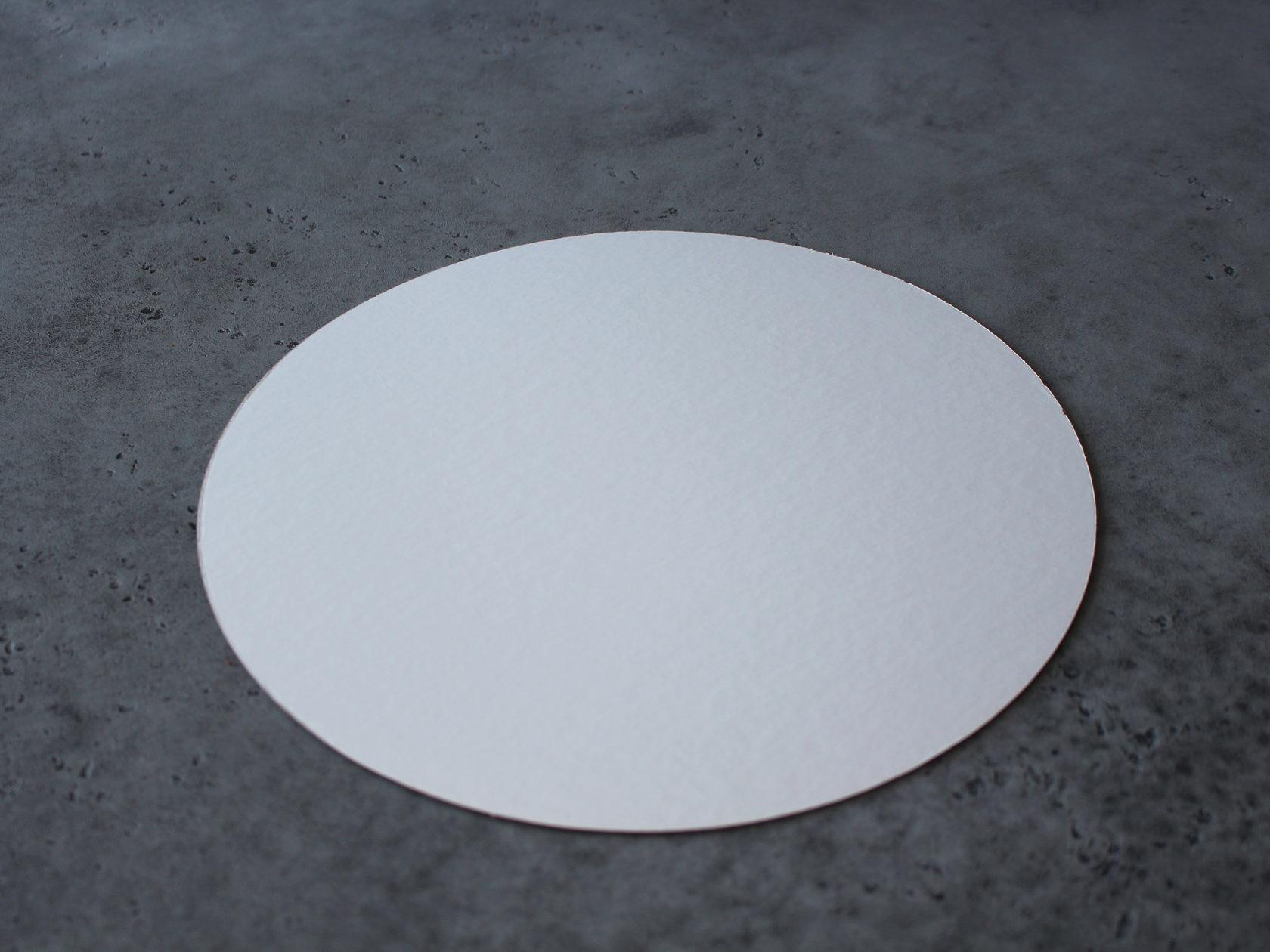 Подложка белая/золотая 28 см, 3,2 см