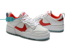 Nike Dunk Low Disrupt 'White/Red'