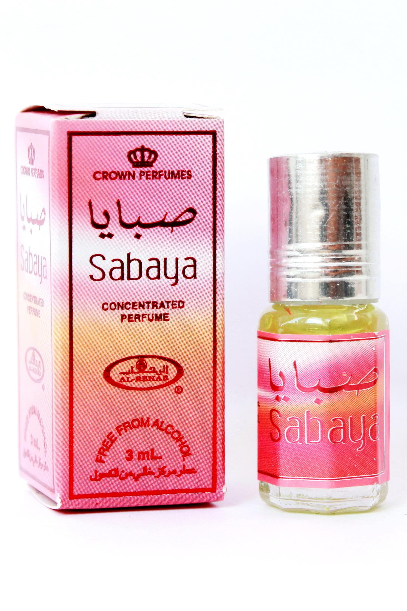 Sabaya Сабая 3 мл арабские масляные духи от Аль Рехаб Al Rehab
