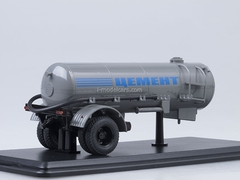 Semitrailer TC-4 Cement gray Start Scale Models (SSM) 1:43