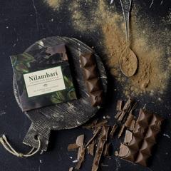 Шоколад Nilambari на кэробе светлый без сахара, 65 г