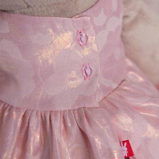 Зайка Ми большая с розовым цветком