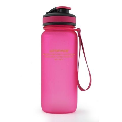 Бутылка для воды Uzspace (матовый розовый), 650 мл
