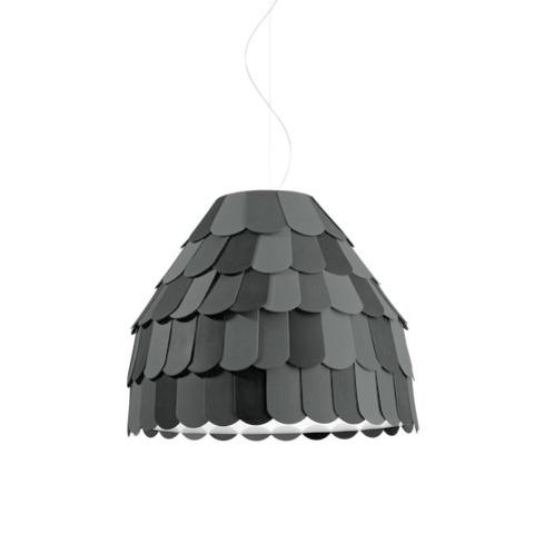 Подвесной светильник копия Roofer F12 A01 by Benjamin Hubert (серый)