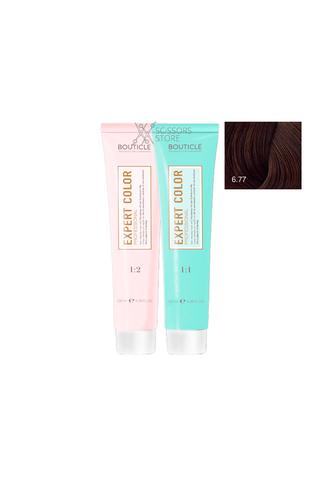 Expert Color Hair Color Cream 6/77 темно-русый интенсивный шоколадный 100 мл