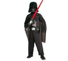 Детский костюм Дарта Вейдера со световым мечом
