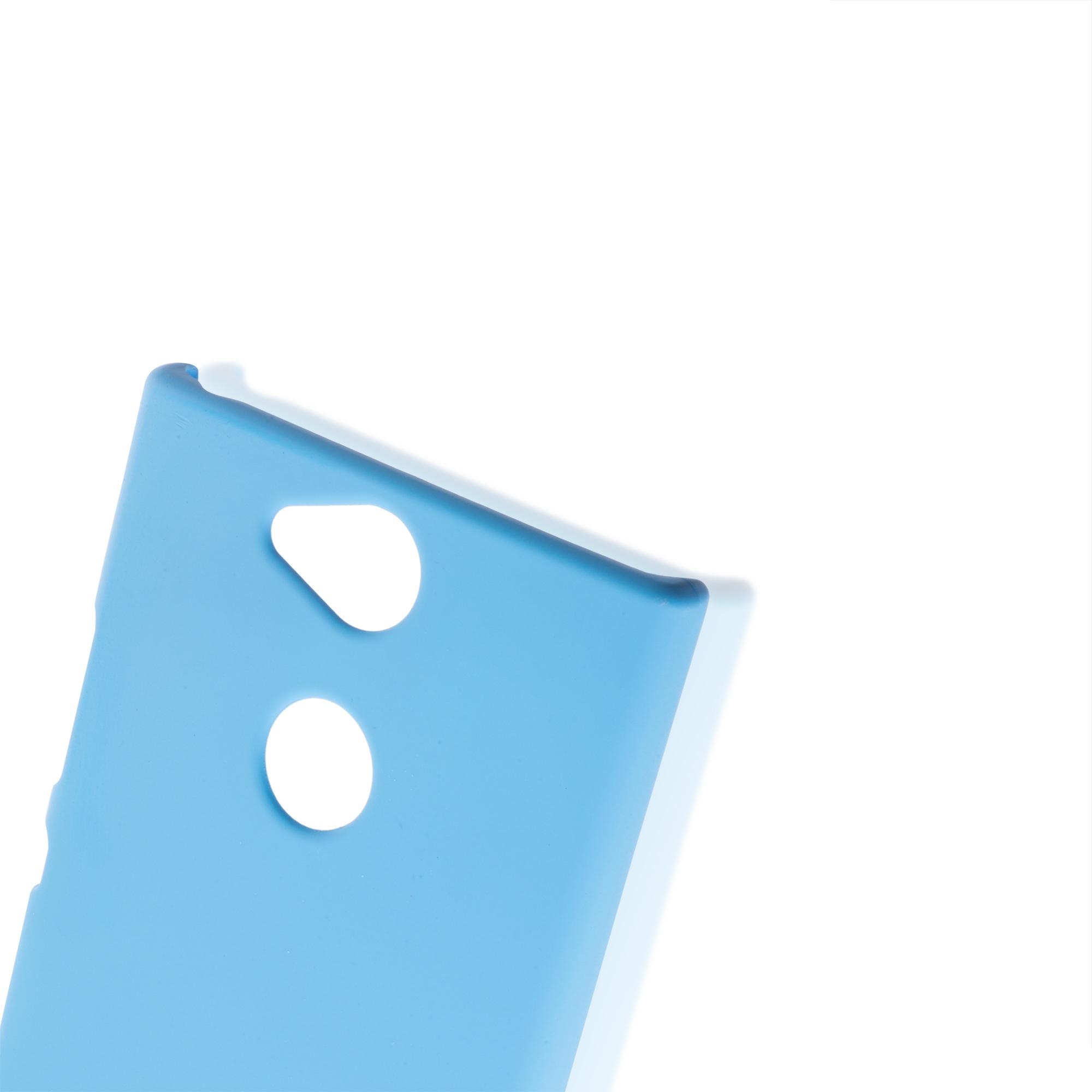 Пластиковый чехол для смартфона Xperia XA2 синего цвета
