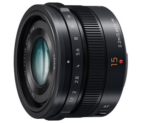 Panasonic Lumix Leica DG Summilux 15mm f/1.7 ASPH (H-X015E)