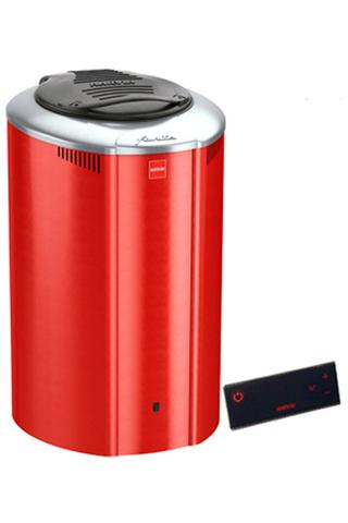 HARVIA Электрическая печь Forte HAFB400400R AF4 red с выносной панелью управления