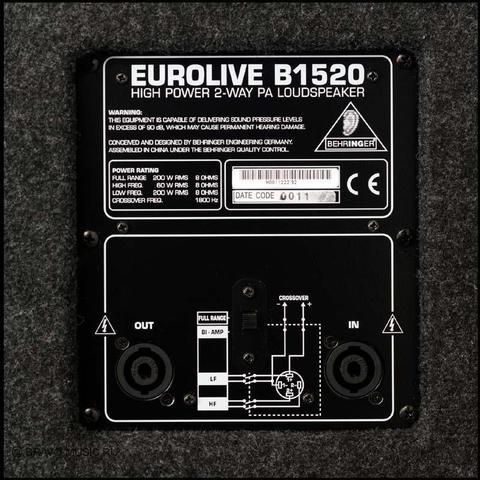 Акустические системы пассивные Behringer B1520 Pro