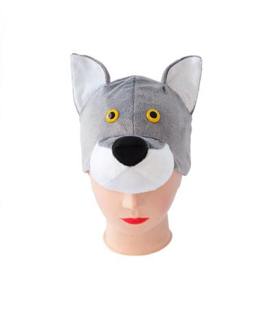 Маска-шапочка Волк