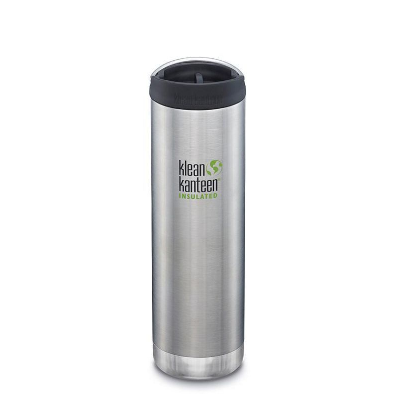 Термокружка Klean Kanteen TKWide Cafe Cap 20oz (592 мл) Brushed Stainless