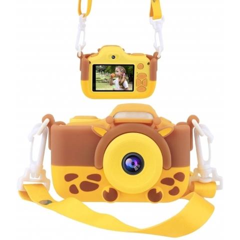 Детский цифровой фотоаппарат Жирафёнок