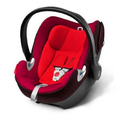 Автокресло Cybex Aton Q Strawberry