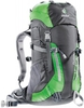 Картинка рюкзак туристический Deuter Climber Anthracite-spring