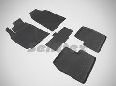 Резиновые коврики для LIFAN SOLANO, высокий борт