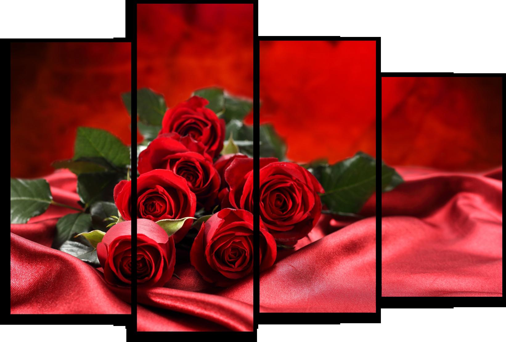 """Модульные картины Модульная картина """"Кровавые розы"""" М38.png"""
