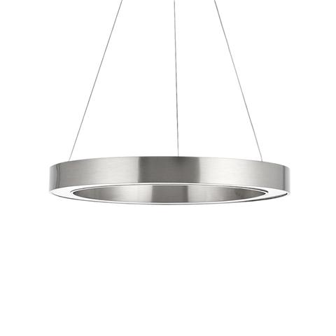 Подвесной светильник копия Light Ring by HENGE D80 (никель)