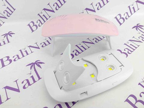 UV/LED Лампа 6W Sun mini, (розовая)