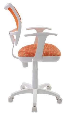 спинка сетка оранжевый сиденье оранжевый жираф Giraffe (пластик белый)