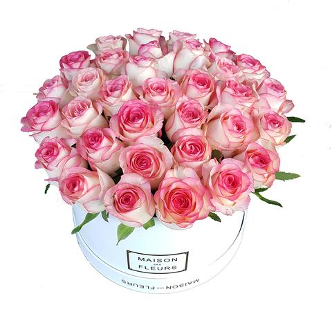 Коробка Maison Des Fleurs Розовая 4
