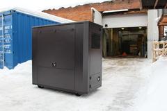 Всепогодный шумозащитный миниконтейнер SB1800 для дизельных генераторов
