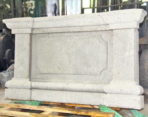 Подоконник закладной из архитектурного бетона.