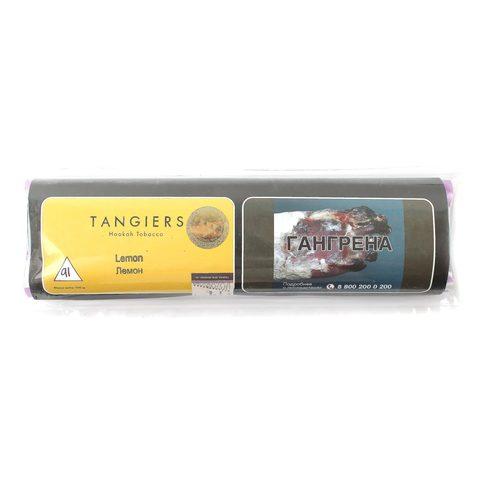 Табак для кальяна Tangiers Noir (желтый) 91 Lemon